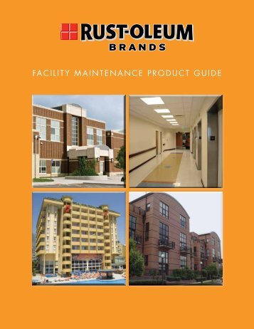 Facility Maintenance Catalog from Rust-Oleum - NFMT