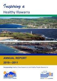 Inspiring a - Healthy Cities Illawarra