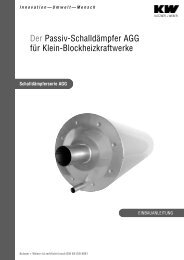 Einbauanleitung AGG - Kutzner+Weber