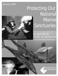 NAPA Report - Monterey Bay National Marine Sanctuary - NOAA