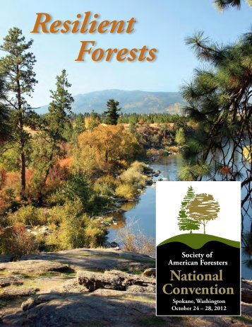 Friday, October 26 • 4:00pm - Society of American Foresters