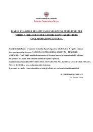Scarica il diario - Azienda ospedaliera G. Brotzu
