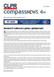 CompassNews 4/08 - Český lodní a průmyslový registr, s.r.o.