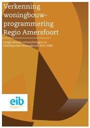 Verkenning woningbouwprogrammering Amersfoort DEF CUTE