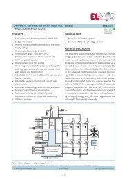 E910.69 1/8 Features General Description Applications - Channel ...
