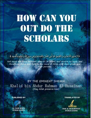 how-can-you-out-do-the-scholars