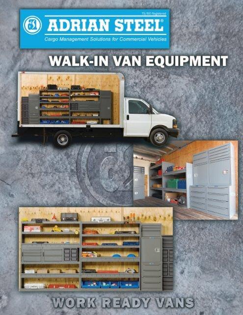 adrian walk-in van equipment catalog - National Ladder and ...
