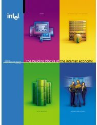 Intel Corporation Annual Report 1999