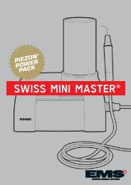 SWISS MINI MASTER® - EMS - Electro Medical Systems