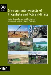 Environmental Aspects of Phosphate and Potash Mining United ...