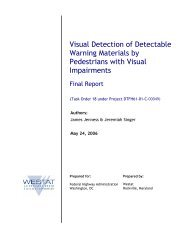 Visual Detection of Detectable Warning Materials by Pedestrians ...