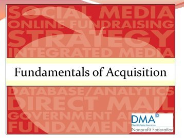 Acquisition Session