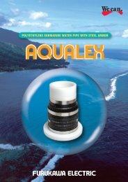 Polyethylene submarine water pipe with steel armor AQUALEX