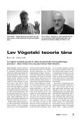 Lev Võgotski teooria täna (Peeter Tulviste, Jaan Valsiner) - Haridus - Page 2