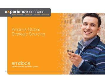 Amdocs Global Strategic Sourcing