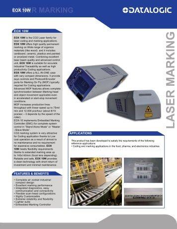 Eox 10W Datasheet - Laser Lines Ltd.