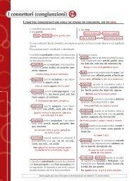 Scheda 39: I Connettori (congiunzioni) - Loescher Editore
