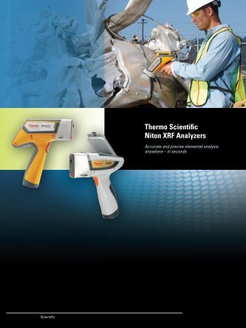 Thermo Scientific Niton XRF Analyzers - NDT-VN.com Website