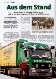 Gericke nachzulesen in LAST & KRAFT - Gericke & Co. GmbH