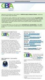 Welcome to the February 2012 edition of GBTA Europe's ... - DBTA