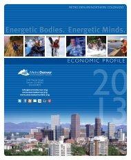 Metro Denver Economic Profile 2013 - Stapleton