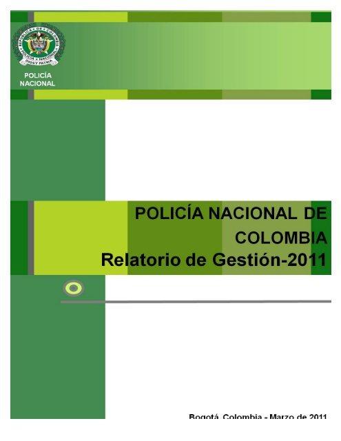 Policia Nacional De Colombia Fundibeq