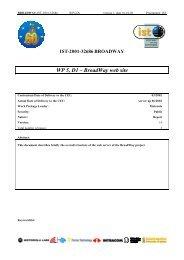 WP 5, D1 – BroadWay web site - Markus Mu(e)ck's Home Page