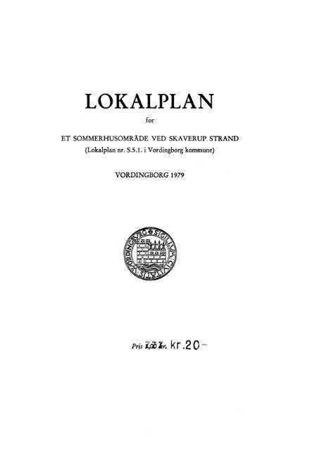 Lokalplan nr. S - 5.1 - Vordingborg Kommune