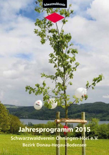 Schwarzwaldverein Öhningen-Höri e.V. Jahresprogramm 2015