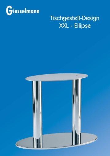 Tischgestelle XXL - ELLIPSE - Franz Giesselmann Metallwaren ...