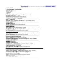 Sicherheitsdatenblatt gemäß 91/155/EWG ... - Wendisch-PS