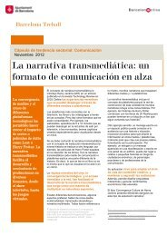 La narrativa transmediática: un formato de ... - Barcelona Treball