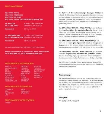 DELE - Fremdsprachenzentrum der Hochschulen im Land Bremen