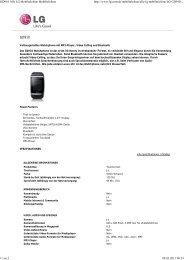 GD910 Alle LG Mobiltelefone Mobiltelefone