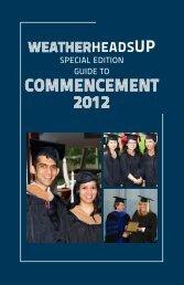 COMMENCEMENT 2012 - Case Western Reserve University
