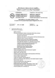 Ministerstvo dopravy České republiky - STAG