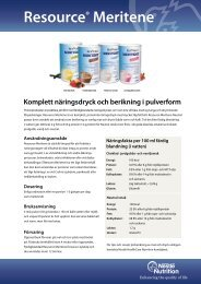 Resource® Meritene - Nestlé Nutrition