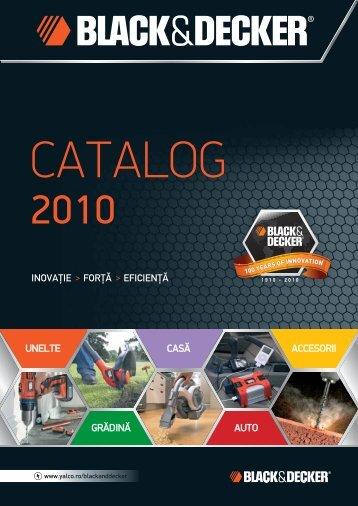 Catalog Black&Decker 2012 - Utilaje-scule.com