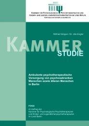 Kammerstudie FOGS (PDF, 1457 kb) - Kammer für Psychologische ...
