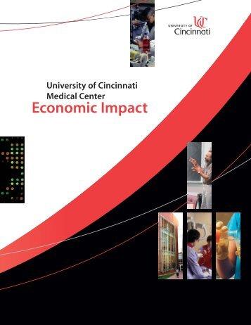 University of Cincinnati Medical Center Economic Impact - tbed