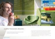 Luxaflex® Horizontale Jaloezieën - Eurlings Interieurs