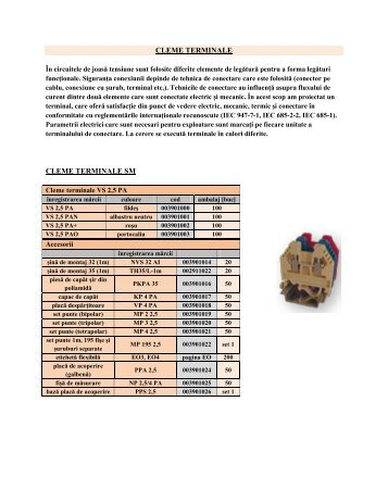 CLEME TERMINALE CLEME TERMINALE SM - BRIO ELECTRIC