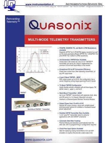 multi-mode telemetry transmitters - Instrumentation Devices