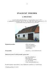 ZNALECKÝ POSUDEK č. 690/125/2011 - OKdrazby.cz