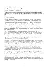 1 Misrøgt. Studievejledning skal ud af skyggen Politiken, 2. januar ...