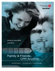 CPR Anytime Facilitator Guide - Laerdal Holiday Events