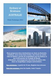 Séjours Linguistiques Australie - ISPA