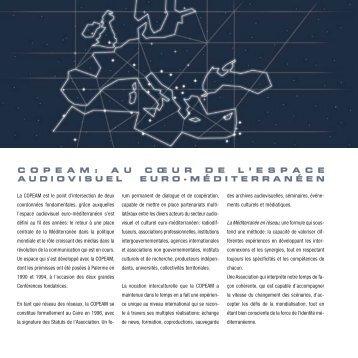 La brochure de la COPEAM