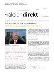 Wir müssen auf Wachstum setzen - CDU/CSU-Fraktion im ...