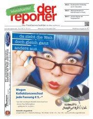 der reporter - Das Familienwochenblatt für Plön und Preetz 2014 KW 47